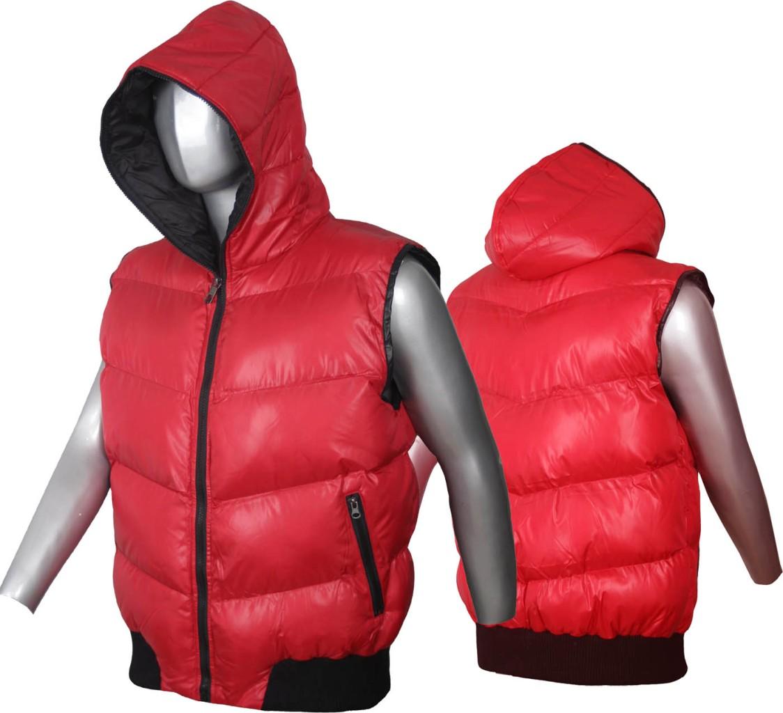 new mens hooded body warmer red gilet vest jacket ebay. Black Bedroom Furniture Sets. Home Design Ideas