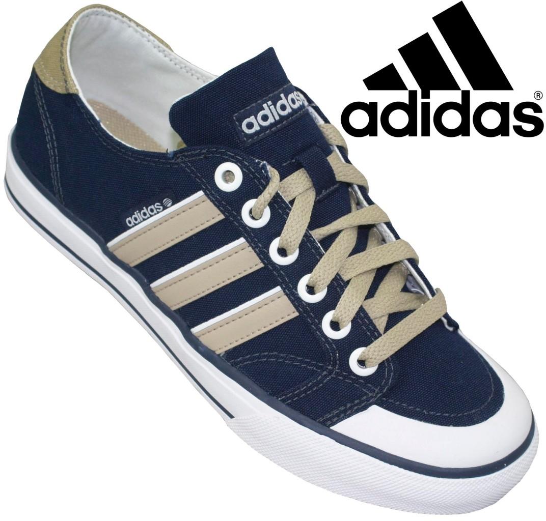 new mens adidas clemente stripe lo shoes blue white lace