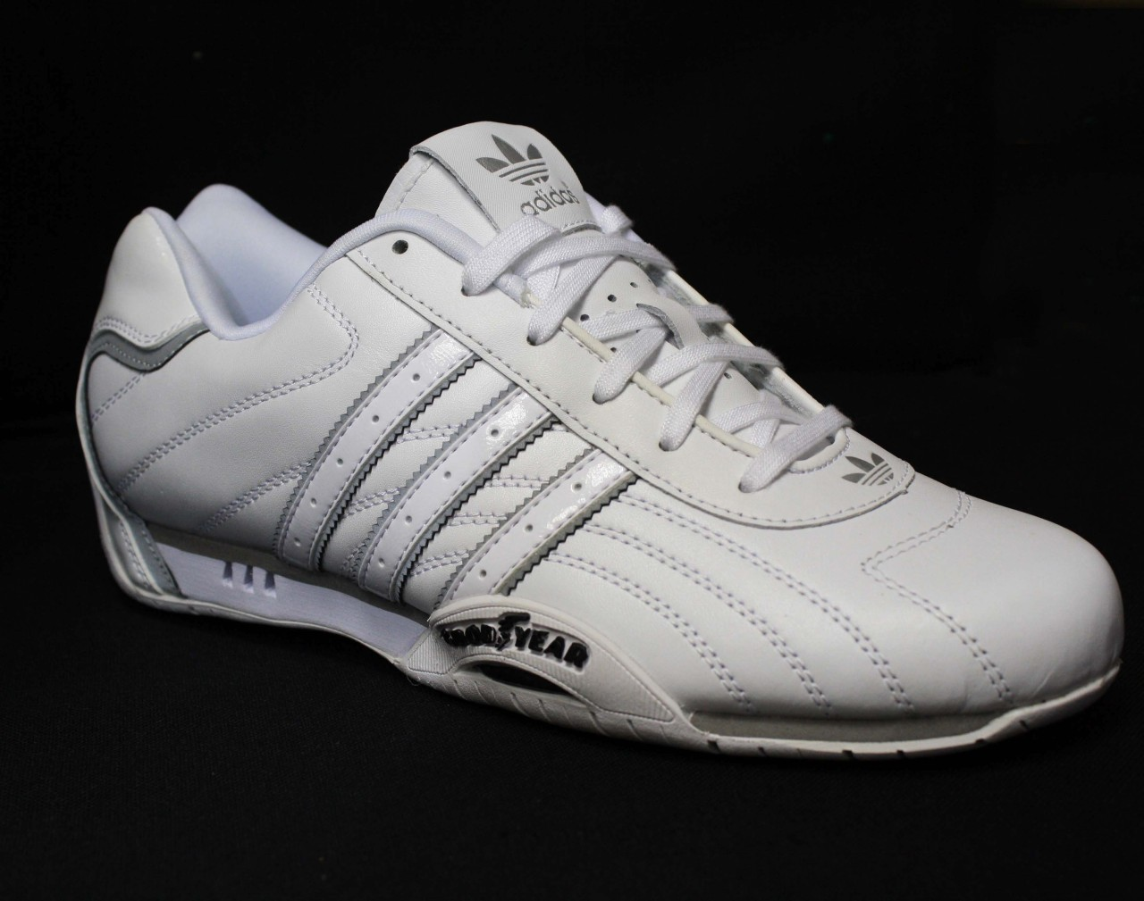 adidas originals adi racer goodyear white trainers all sizes. Black Bedroom Furniture Sets. Home Design Ideas