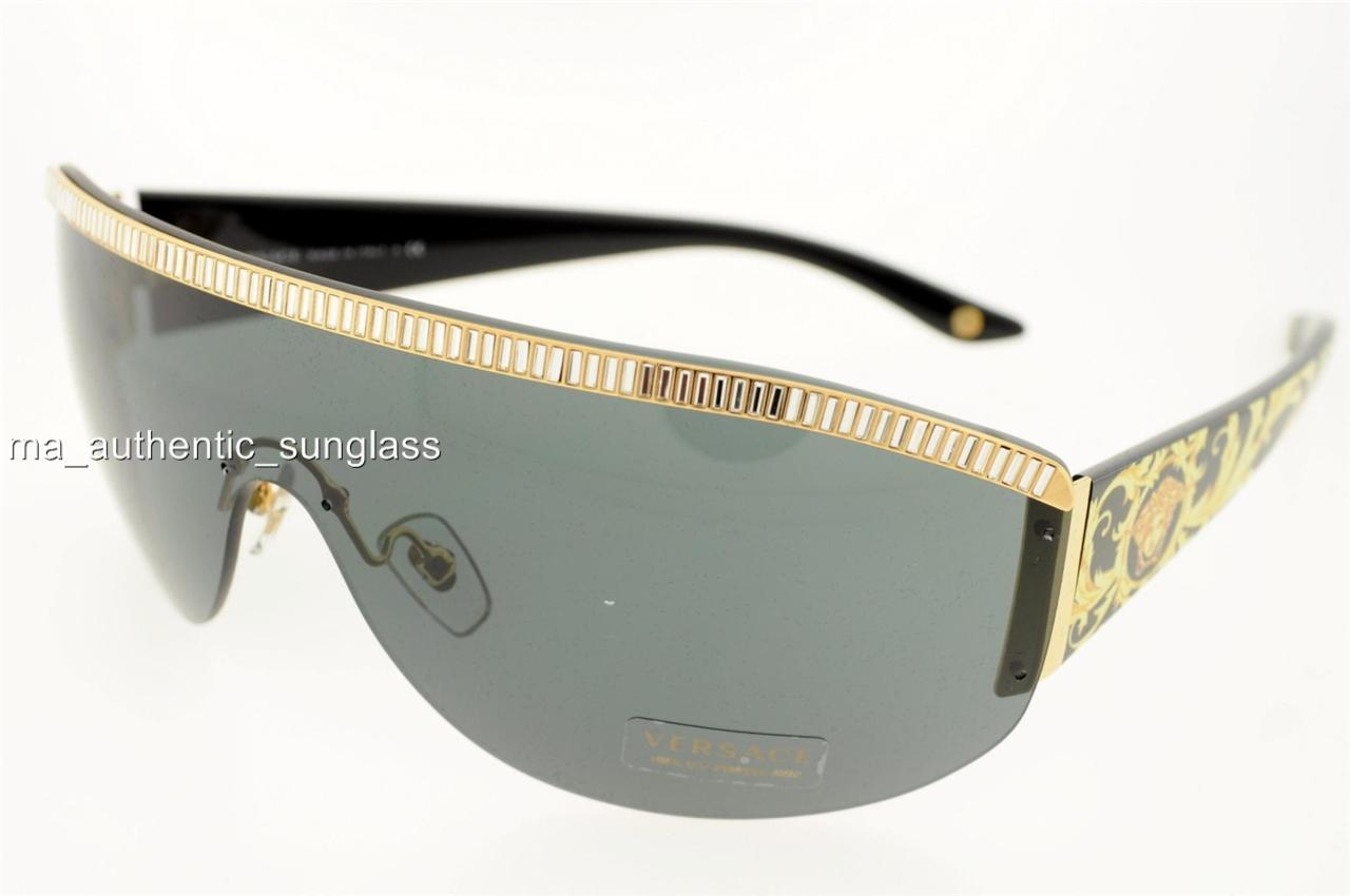 Versace Sunglasses Gold Frame : VERSACE SUNGLASSES VE 4232B 4232 500987 5009/87 GOLD FRAME ...