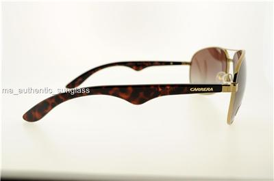 CARRERA SUNGLASSES 6006 BWPLA BWP LA GOLD FRAME BROWN ...