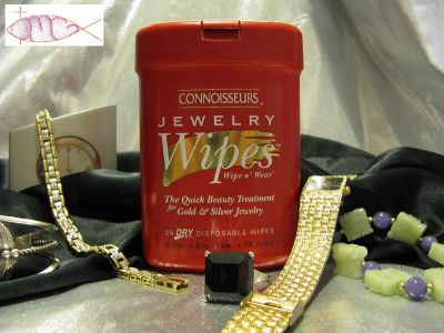 New-CONNOISSEURS-Disposable-Jewelry-Wipes-Ships-FREE