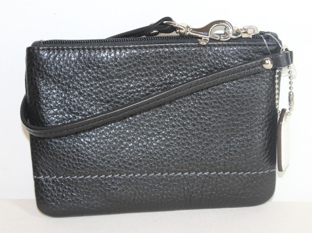 coach black purse outlet  wristlet purse