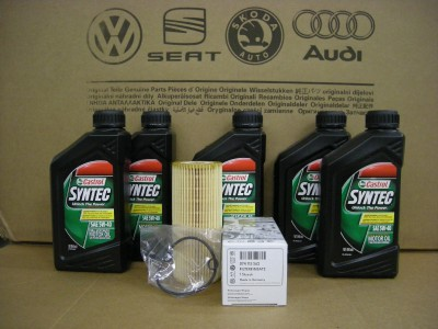 vw oem oil change kit alh 99 05 golf beetle jetta tdi ebay