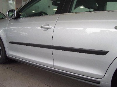 NEW OEM VOLKSWAGEN MK5 MK6 BODY SIDE MOLDINGS 4-DOOR ONLY ...