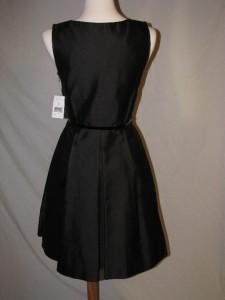 Kate Spade Dabney Embellished Black Dress 2 Silk Cotton