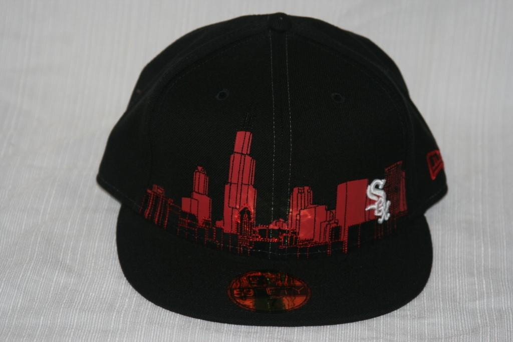 chicago white sox skyline. Black Chicago White Sox