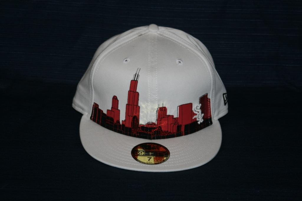 chicago white sox skyline. White Chicago White Sox