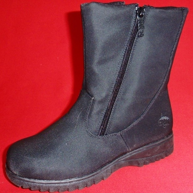 Women&39s Totes Winter Boots Puff - Black | Homewood Mountain Ski Resort