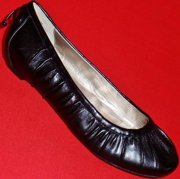 NEW-Womens-STEPHANIE-Black-Slip-On-Flats-Loafers-Fashion-Casual-Dress-Shoes