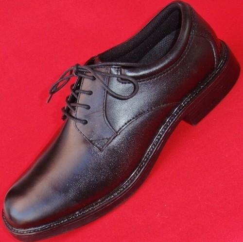 new s nunn bush 83514 57 black leather lace up oxfords