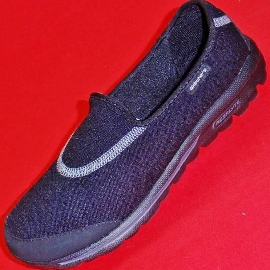 new s skechers gowalk everyday 13510 black slip on