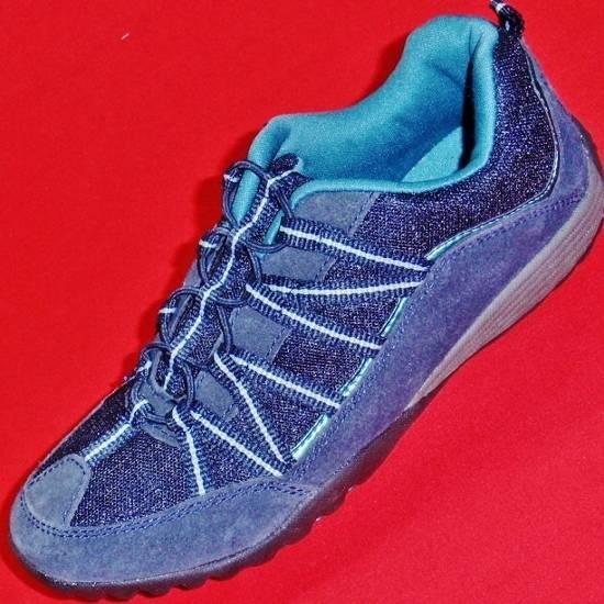 NEW-Womens-CROFT-BARROW-JORDANA-Navy-Blue-Slip-on-Walking-Fashion-Casual-Shoe