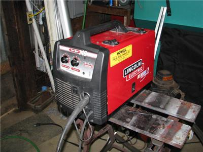 Lincoln pro mig 140 welder needs repair nr ebay for Mig welder wire feed motor not working