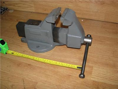 Bench Vise Made In The Usa Columbian New Free Shipping Ebay