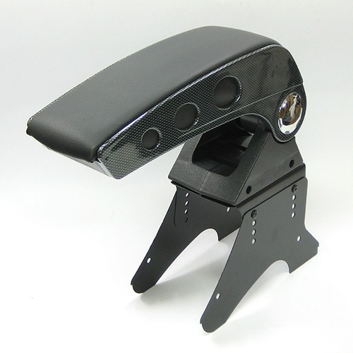 universal carbon armrest centre console fits renault scenic laguna clio megane ebay. Black Bedroom Furniture Sets. Home Design Ideas