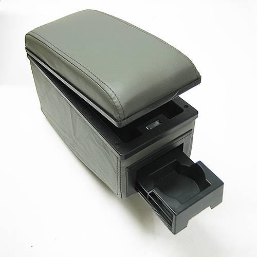universal grey armrest centre console fits renault scenic laguna clio 3 4 megane ebay. Black Bedroom Furniture Sets. Home Design Ideas