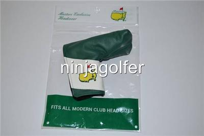 Masters Augusta National Leather Golf Headcover Set Driver