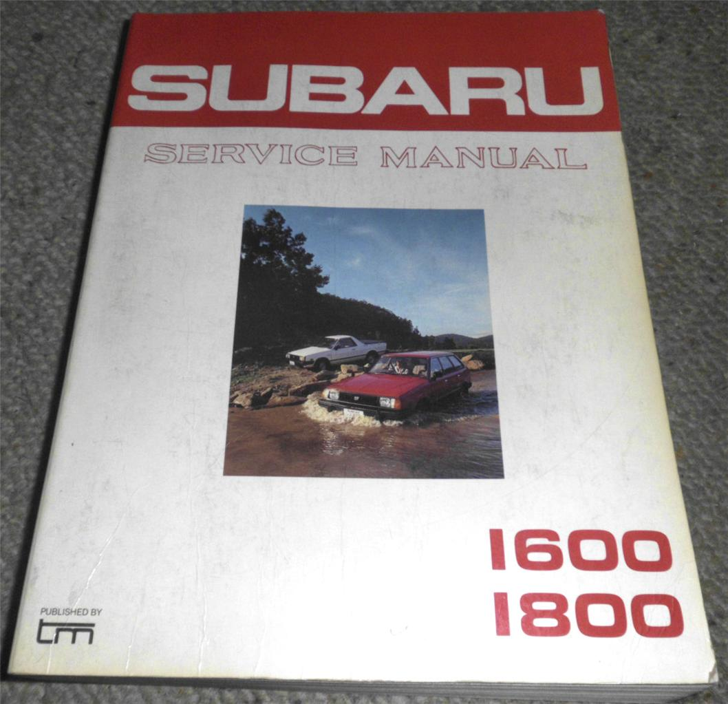 SUBARU-1600-1800-1983-83-MODELS-TM-SERVICE-MANUAL