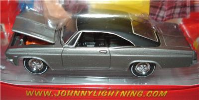 Chevy Chase Acura on 1965 Chevy Impala Silver Johnny Lightning Calendar Cars   Ebay