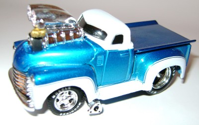 Chevy Chase Acura on 1953  53 Chevy Chevrolet Truck Pickup Diecast Muscle Machines Loose