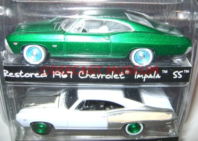 Chevy Chase Acura on 1967  67 Chevy Impala Ss 2 Pack Green Machine Gm Resto Diecast Gl Very