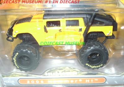 2006 Hummer H1 Bigtime 4 Wheelin Diecast Jada 2010 RARE