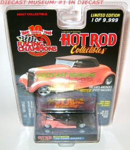1940 40 FORD COUPE RC HOT ROD DIECAST RARE