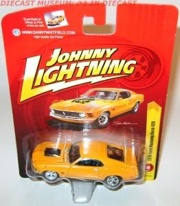 1970 70 Ford Mustang Boss 429 Whitfield JL Johnny Lightning Diecast