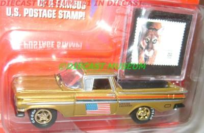 Chevy Chase Acura on 1959  59 Chevy El Camino Postal Service Stamp Diecast   Ebay