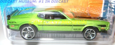 1971 71 FORD MUSTANG BOSS 351 HOT WHEELS HW DIECAST