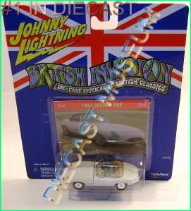 1961 61 Jaguar XKE British Invasion JL Johnny Lightning Diecast RARE