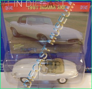 1961 61 Jaguar XKE British Invasion JL Johnny Lightning Diecast RARE