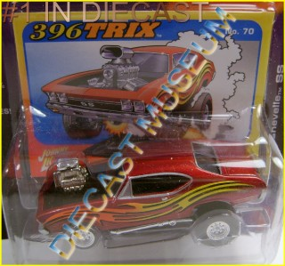 Chevy Chase Acura on 1968  68 Chevy Chevrolet Chevelle Ss Zingers Jl Johnny Lightning
