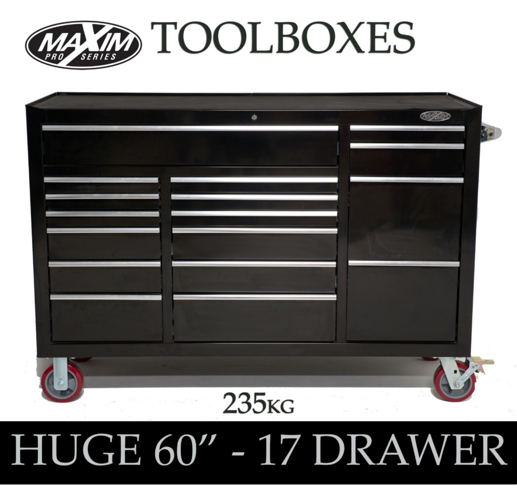 MAXIM-Huge-60-034-Roll-Cabinet-Toolbox-Chest-Tool-Box-Garage-Storage-workbench