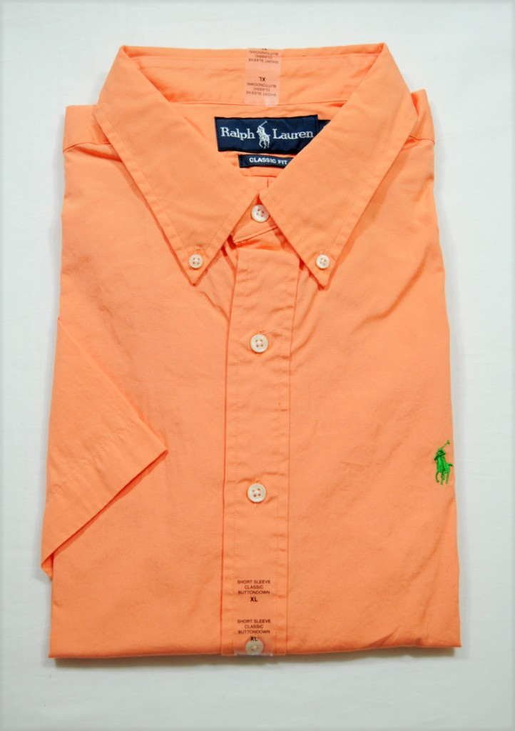 Nwt Ralph Lauren Polo Mens Classic Fit Short Sleeve Button