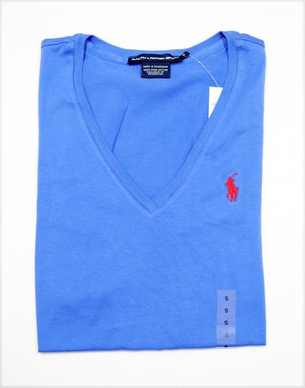Ralph Lauren V Neck T Shirt Womens