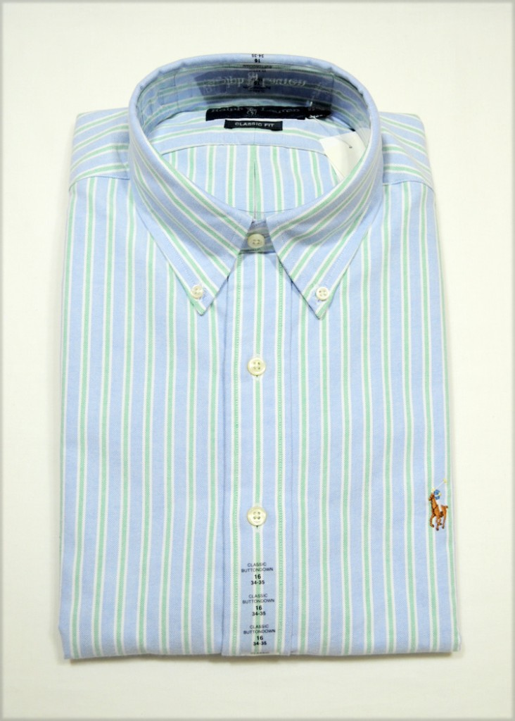 Ralph lauren polo button down dress shirts for Button down uniform shirts