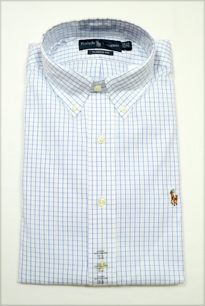 New-with-Tag-Ralph-Lauren-POLO-Mens-Classic-Fit-Button-Down-Dress-Shirt