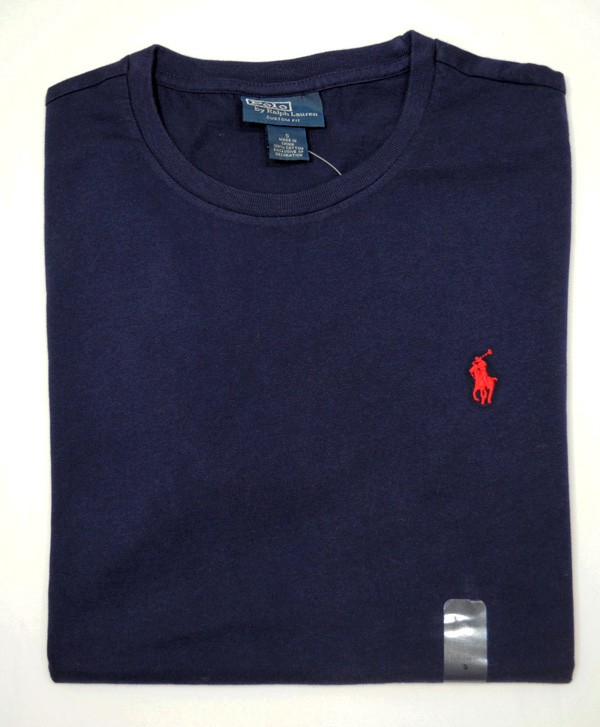 New with tag ralph lauren polo mens cotton t shirt tee for Custom t shirts with custom tags
