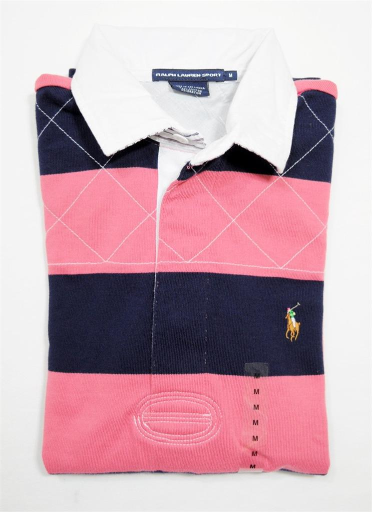 Nwt Polo Ralph Lauren Womens Classic Fit Long Sleeve Rugby