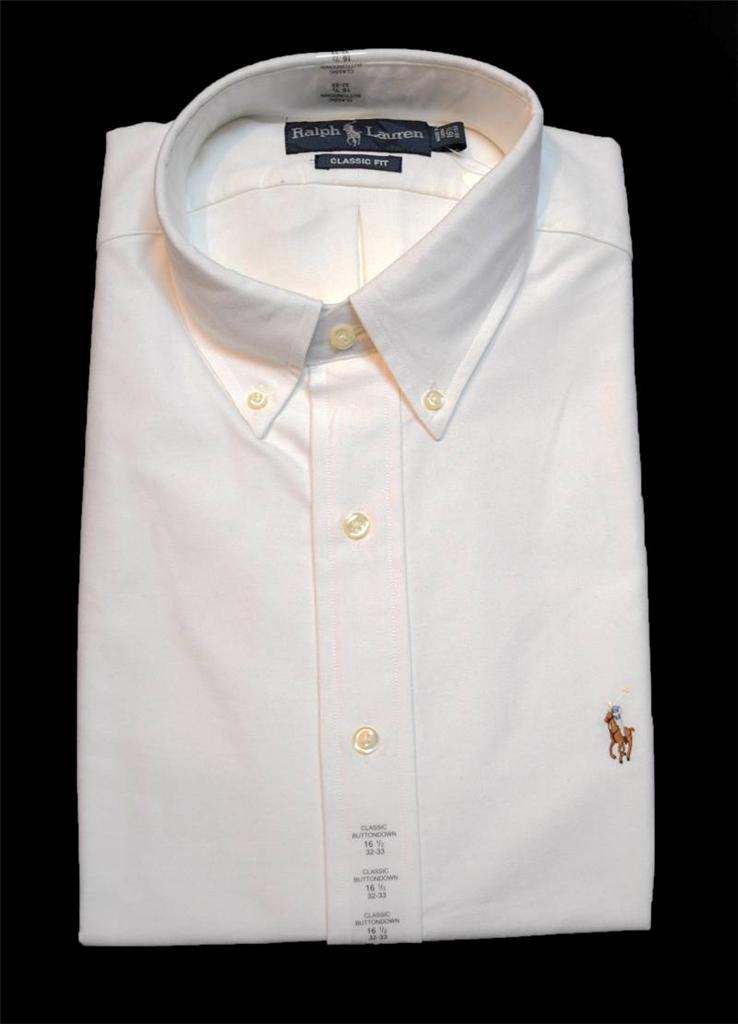New With Tag Ralph Lauren Polo Mens Classic Button Down