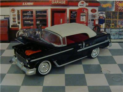 55 Chevy Bel Air Convertible 1/64 Scale Limited Edition