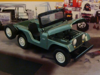 American Motors Jeep Cj 5 4x4 1 64 Scale Limited Edition 4