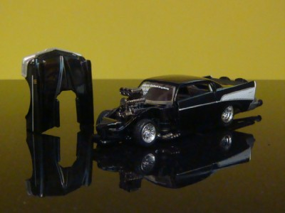 1957 Chevy Bel Air Nitro Dragster 1/64 Scale Limited Edition 8