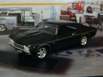 1969 69 chevrolet chevelle ss 396 big block 1 64 scale limited edition j ebay - 69 chevelle ss 396 images ...