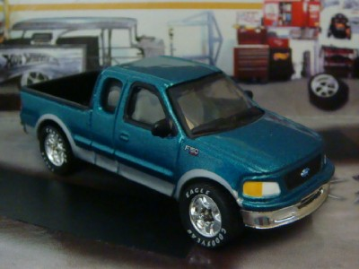 97 Ford F150 XLT Super Cab Pick-up 1/75 Scale Limited Edit See Photos ...