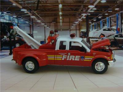 fire rescue ford f series super duty tow truck 1 64. Black Bedroom Furniture Sets. Home Design Ideas