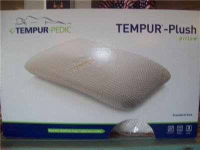 Pillow Sizes on Tempur Pedic Plus Pillow Standard Size Nib   Ebay