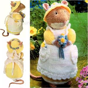 Alan Dart Free Knitting Patterns : Alan Dart Brambly Hedge Primrose toy knitting pattern eBay